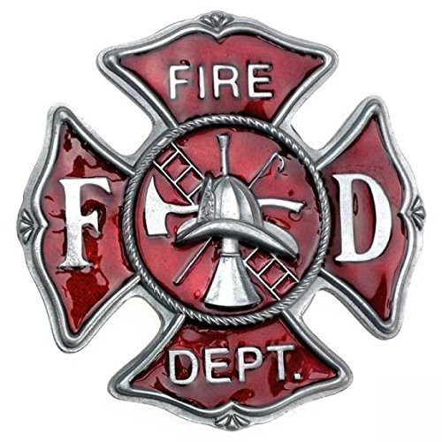 Buckle US Feuerwehr Logo, Fire Departement, Firefighter - - Firefighter Gürtelschnalle