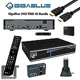 GigaBlue Trio UHD 4K 1x DVB-S2x & 1x DVB-C/T2 Bundle inkl. 1000GB HDD u. 1200Mbit WLAN