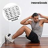 InnovaGoods Barre de Fixation en Portes pour abdominaux avec Guide d'exercices, Adultes Unisexe, Noir, Taille Unique