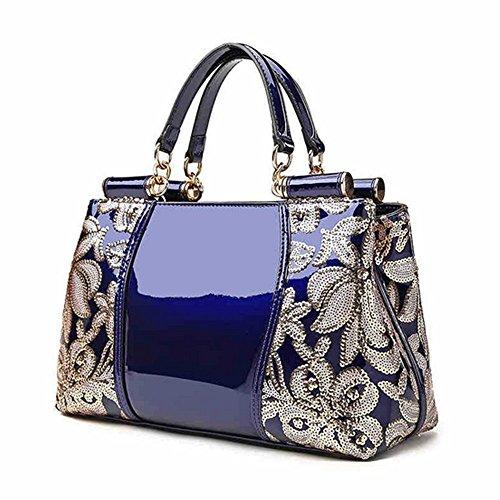 Eysee, Borsa tote donna blu Beige 31cm*20cm*13cm Blue