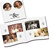 #10: Clixicle Customized Best Friends Forever Flip Photo Book Album , 2 photos per page, 20 pages,, 6in x 6in