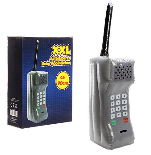 riesiges aufblasbares Retro Mobiltelefon XXL, ca. 90cm ,der Badespaß schlecht hin