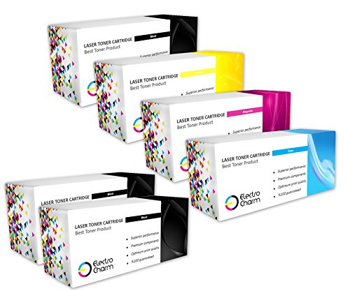 Preisvergleich Produktbild Set von 4+ 2schwarz nicht-OEM cf410X/410x Multicolor Tintenpatrone für HP Color LaserJet Pro MFP m477fdw/m477fnw/m477fdn/M377
