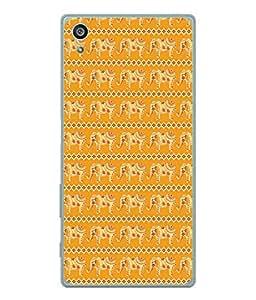 PrintVisa Designer Back Case Cover for Sony Xperia Z3+ :: Sony Xperia Z3 Plus :: Sony Xperia Z3+ dual :: Sony Xperia Z3 Plus E6533 E6553 :: Sony Xperia Z4 (Religious elephant Diamonds)