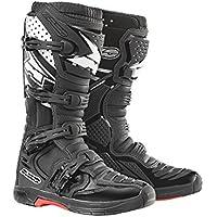 Spada Hurricane 2WP botas de motocicleta, negro, 38 EU
