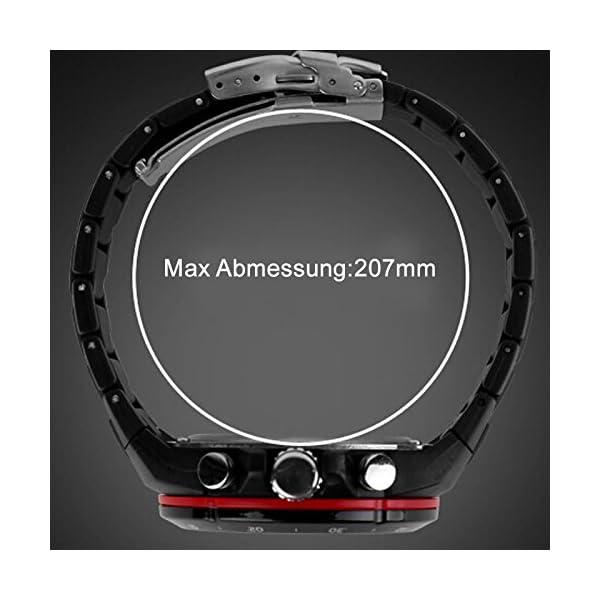 07aa792cbf7f Inicio   Estilos   Running   SunJas Reloj Deportivo para Hombres Resistente  contra Agua de 50m Pulsera Digital con Luces Banda Desmontable ...