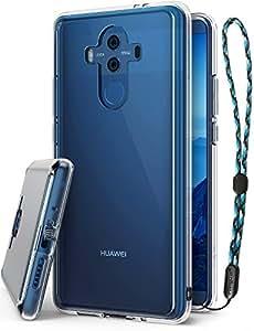 Coque Huawei Mate 10 Pro, Ringke [FUSION] [Clear] Bumper en TPU avec Dos Crystal transparent [Protection contre les chutes / Technologie d'absorption des chocs] Étui de protection - Clair