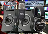 Packs home studio PRODIPE PACK STUDIO VIDEO Packs micros + accessoires