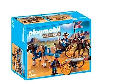 Playmobil Oeste - Soldados con cañón (5249)