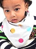 ACC- Flannel Baby Bandana drool Bibs, Un...