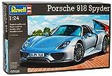 Revell Porsche 918 Spyder Silber 07026 Bausatz Kit 1/24 Modell Auto mit individiuellem Wunschkennzeichen