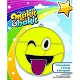 Makit & Bakit Suncatcher Kit-Emoji Tongue