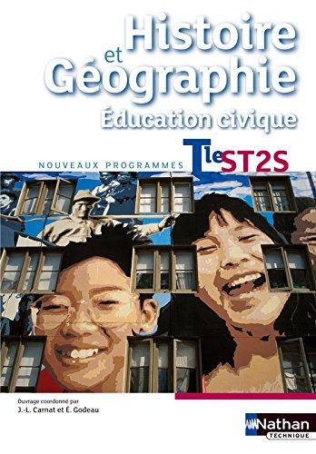 Histoire-Gographie - Education civique - Tle ST2S