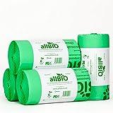 100 x 50 Liter allBIO-Tüten 50 Liter 100% Biologisch Abbaubare & Kompostierbare Tüten für den Küchenmülleimer/die Mülltonne