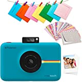 Polaroid Snap Touch 2.0 - Cámara digital portátil instantánea de 13 Mp, Bluetooth, pantalla táctil LCD, tecnología Zink sin tinta y nueva aplicación, copias adhesivas de 5 x 7.6 cm, azul