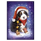 Hothap Christmas Dog 5D DIY Voller Diamant Malerei Stickerei Kreuzstich Dekoration