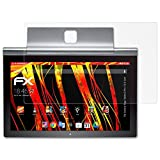 atFolix Folie für Lenovo Yoga Tablet 2 Pro (13.3 inch) Displayschutzfolie - 2 x FX-Antireflex-HD hochauflösende entspiegelnde Schutzfolie