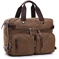 Schick Freizeit Canvas Handtasche Henkeltasche Gepäck Kuriertasche Rucksack Reisetasche Business Laptoptasche - Libro Blu Tovagliolo