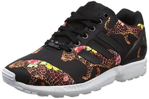adidas Damen ZX Flux Sneakers, Mehrfarbig (Core Black/Core Black/Ftwr White), 38 2/3 EU