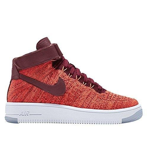 Nike Damen W AF1 Flyknit Fitnessschuhe, Orange (Total Crimson/Team Red), 38 EU