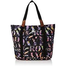 Roxy Other Side - Bolsa de tela y de playa, color negro, 47 cm