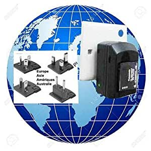 Chargeur de Batterie Appareil Photo E-force® pour NIKON MH-15 - 3W/0.6A - Livraison Gratuite de France/48hr,Chargeur International de batterie, Idéal pour les voyages