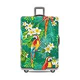 """Gifts Treat Copri bagagli copri valigia (senza valigia) (Giungla&pappagalli, M(Fit 22""""-24"""" Suitcase))"""