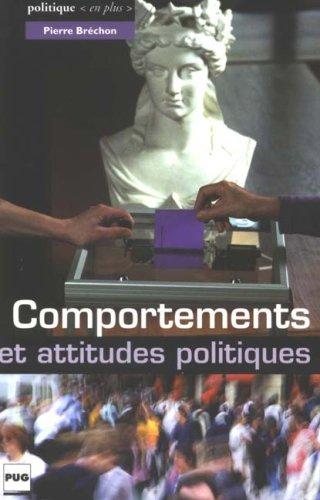 Comportements et attitudes politiques