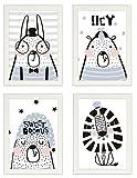 Kinder Poster 4er-Set