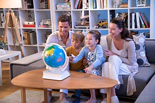 Oregon Scientific - Globo terráqueo Smart Globe Explorer AR