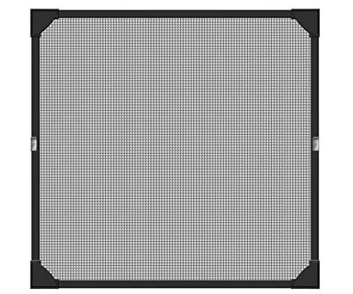 Schellenberg 50748 Protección anti insectos para ventanas, Antracita, 100 x 120 cm