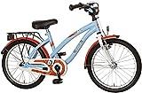 Bachtenkirch Kinder Fahrrad RACY, hellblau/orange, 18 Zoll, 1300444-RC-67