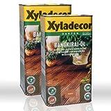 2 x 5l Xyladecor Bangkirai-Öl (10 Liter)