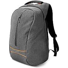 SPARIN Laptop Zaino, Laptop Zaino Scuola Business per Computer Portatile da 15,6 pollici con [USB Port] [Multi-funzionale] [Impermeabile] [Alta Capacita] [anti-furto] -Grigio