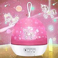 Star Projector Night Light for Kids, Girls Night Light Baby Starry Sky Projector Lamp, Boys Girls Christmas Birthday Gifts