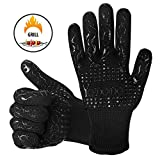 Best Guantes Grill - yododo Grill guantes guantes de horno, 500 °F resistente Review
