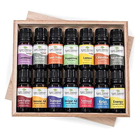 14 Essential Oil Set (7 Synergies and 7 Singles) Includes