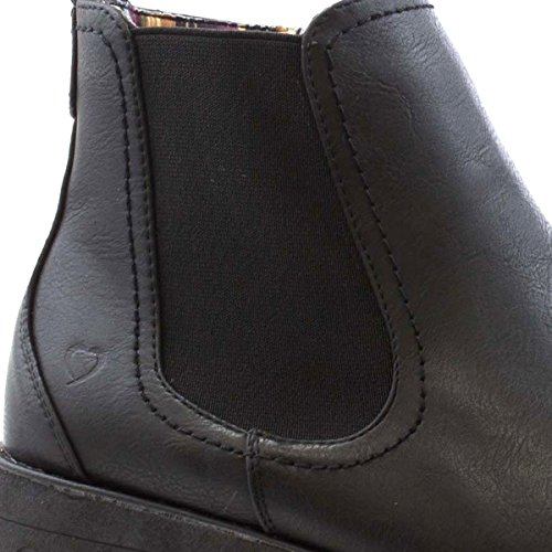 Heavenly Feet Women - Bottes Chelsea Noires