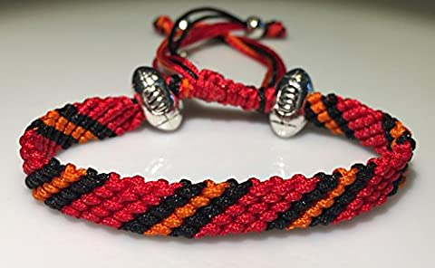 Mary's Terrace NFL ROPES. Handmade to order. Ideal American Football Themed Gift for any NFL Supporter. All NFL Kit Colours available, a Sporting Accessory for any American Football Fan, a Present they will love. (TAMPA BAY