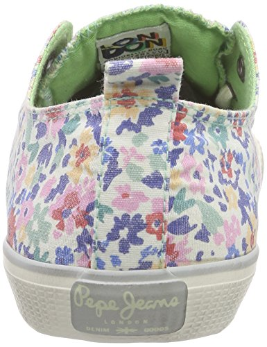 Pepe Jeans Damen Industry Low Bunco Sneakers Pink (325PINK)