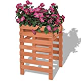 WEILANDEAL Pflanzkasten Holz 38 x 36 x 60 cm Blumentopf Outdoor Garten 0