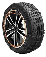 """X-9 - Catene da neve autovetture - 3 X-9 Manganese, 9 mm di ingombro interno Maglia compatta con sezione a """"D"""" utilizzabili da entrambe le parti. Ideali per tutte le vetture con spazio limitato tra pneumatico e parti meccaniche. Acciaio al ma..."""