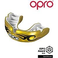 Opro Power-Fit Brillante - Urbano - Oro/Bianco
