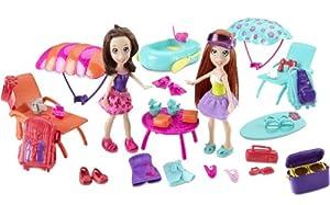 Polly Pocket - Polly Amigas Paracaidistas (Mattel) de Mattel