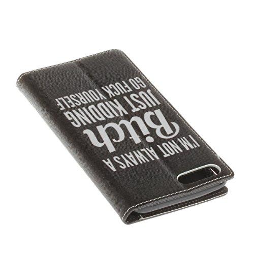 Ekakashop Custodia iphone 7 plus 5.5, Cover iphone 8 plus, Elegante borsa Custodia in Pelle Protettiva Flip Portafoglio libro Case Cover per Apple iphone 7 plus/iphone 8 plus 5.5 pollici con Carte Sl C#1
