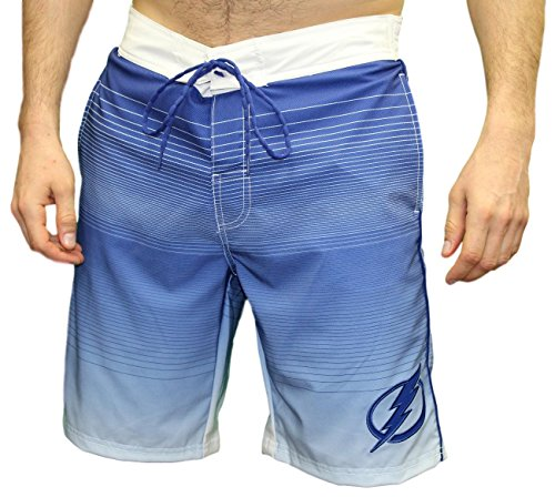 "Tampa Bay Lightning NHL G-III ""Defense"" Men's Boardshorts Swim Trunks"