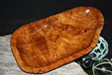 "Wooden Platter 14""X8""X2"" - Rustic Teak Root #HWA117"