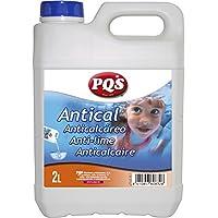 12237-Antical PQS especial piscinas. Evita la formación de incrustaciones en aguas, suelos y paredes de piscinas. Botella 2 Lt.