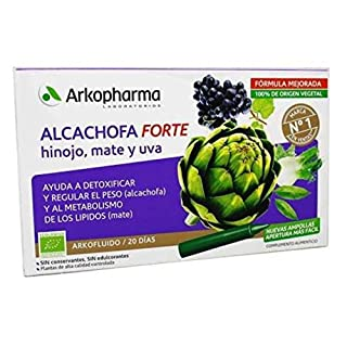 ARTICHOKE Arkofluido FORTE DRINKABLE AMP 20 AMP 15 ML