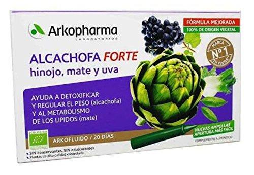 Foto de ARKOPHARMA Ampollas alcachofa con hinojo, mate y u